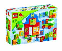 LEGO DUPLO 6051: Play with Letters: Amazon.co.uk: Toys & Games