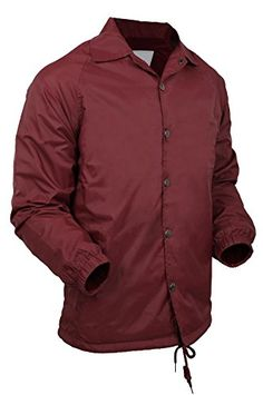 New Trending Outerwear: HB Casual Coaches Jacket Lightweight Active Windbreaker Waterproof (Small, Burgundy). HB Casual Coaches Jacket Lightweight Active Windbreaker Waterproof (Small, Burgundy)   Special Offer: $20.95      300 Reviews Unisex Coaches Lightweight Jacket Active water proof Premium Quality with LOWEST PRICE for Coaches Jacket Our Coaches jackets are making them ideal for rescue...