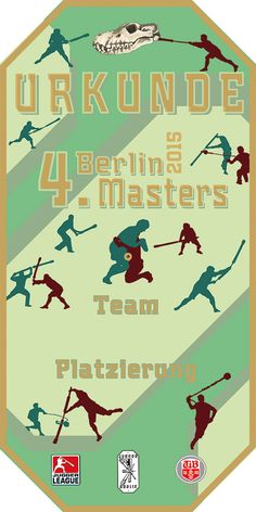 urkunde 4. Berlin Masters 2015