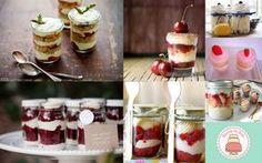 Aproveitando a moda do naked cake - bolo pelado, veja o passo a passo para fazer os minis, nas taças para servir na festa ou nos vidros com tampa para presentear no final da festa.