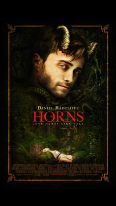 Horns - Directed by Alexandre Aja. With Daniel Radcliffe, Juno Temple, Max Minghella, Joe Anderson. In the aftermath of his girlfriend's mysterious death, a young man awakens to find strange horns sprouting from his temples. Scary Movies, Hd Movies, Horror Movies, Movies To Watch, Movie Tv, Movies Free, Movies Online, Netflix Online, Netflix List