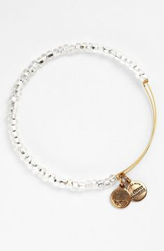 Alex and Ani 'Shimmering Sea Bead' Expandable Wire Bangle available at #Nordstrom