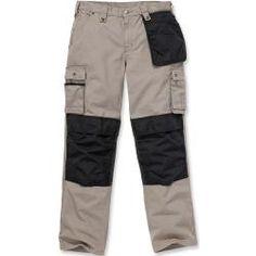 Carhartt Multi Pocket Ripstop Hose Grau 34 Carhartt