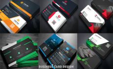 design OUTSTANDING 2 sided business card