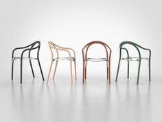 SOUL chair by Eugeni Quitllet with Pedrali. Transparent, Minimalist Fashion, Armchair, Two By Two, Furniture, Stool, Designers, Blog, Wooden Chairs