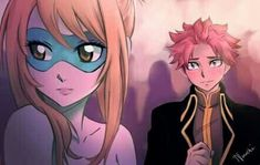 Fairy Tail Nalu (Natsu and Lucy). Thanks to the creator. Fairy Tail Lucy, Fairy Tail Nalu, Fairy Tail Fotos, Art Fairy Tail, Fairy Tail Amour, Image Fairy Tail, Fairy Tail Comics, Fairy Tale Anime, Fairy Tail Guild