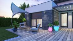 Un-p-tit-test Autocad, Villa Savoye, Construction, Album, Outdoor Decor, Home Decor, Landscape Planner, Building, Decoration Home