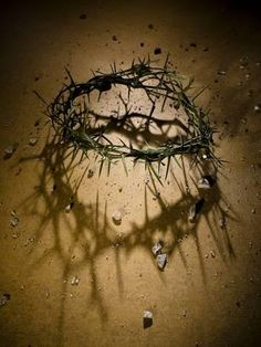 Crown of Thorns with Large Shadow and Pieces of Rock Photographic Poster Print by Joshua Hultquist, Christian Artwork, Christian Images, Christian Wallpaper, Images Du Christ, Pictures Of Jesus Christ, Jesus Crown, Jesus Drawings, Jesus Painting, Prophetic Art