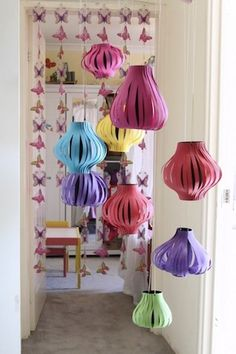 DIY Chinese Lanterns - w/ the how-to