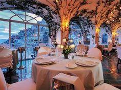 Get a side of stunning views of the Amalfi Coast with your dinner at Ristorante La Sponda in Positano, Italy.