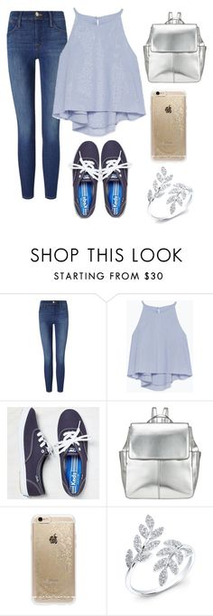 """""""I would  wear this"""" by emilytheunicorn1 ❤ liked on Polyvore featuring Frame Denim, Zara, American Eagle Outfitters, Kin by John Lewis and Rifle Paper Co"""