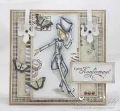 Cards by Camilla: Tickled Pink Stamp