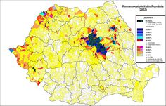 Protestantism in Romania census) Semitic Languages, Blue Green Eyes, Historical Maps, Roman Catholic, Land Scape, Rugs On Carpet, Europe, History, Abstract