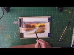 Paint Your Own Watercolour Greeting Cards For Selling On ebay, Etsy, facebook page - YouTube