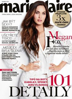 Megan Fox - Marie Claire Magazine Cover [Czech Republic] (April 2013)