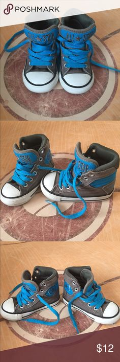 High Top Converse Still has a lot of wear left... Awesome shoe for growing feet. Converse Shoes Sneakers