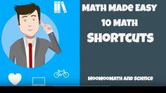 Make Math Easy - 10 Math Shortcuts
