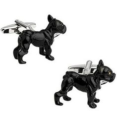 Rxbc2011 Men's Bulldog Style French Shirts Cufflinks 1 Pair Set by Rxbc2011 -- Awesome products selected by Anna Churchill