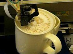 Latte Art Printing Machine