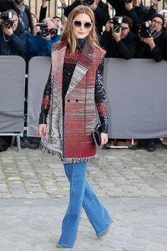 Olivia Palermo|オリヴィア・パレルモディオールのファッションショー会場・パリ