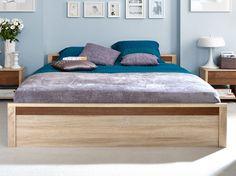 Manželská posteľ stabilnej konštrukcie, Vám pri zvolení vhodného roštu a matraca, zaručí maximálne pohodlie a odpočinok.