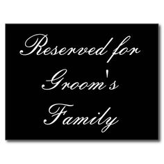 =>Sale on          Reserved for Groom's Family Postcards           Reserved for Groom's Family Postcards We have the best promotion for you and if you are interested in the related item or need more information reviews from the x customer who are own of them before please follow the li...Cleck See More >>> http://www.zazzle.com/reserved_for_grooms_family_postcards-239048766859210393?rf=238627982471231924&zbar=1&tc=terrest