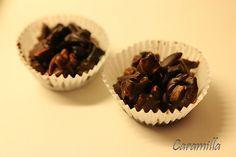 Košíčky ze sušeného ovoce zalité domácí čokoládou Muffin, Breakfast, Morning Coffee, Muffins, Cupcakes
