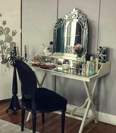 Aynalı Makyaj Masası Carpediem - Archidecors