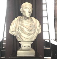 Another one of the marble busts of the great philosophers (Cicero here) and writers of the western world. Trinity College Dublin, Marble Bust, Great Philosophers, Western World, Writers, Wander, Ireland, Sculptures, Statue