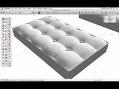 We use the Soap Skin & Bubble SketchUp extension to model a chair cushion. MORE TUTORIALS: http://www.sketchupschool.com/sketchup-tutorials Download Soap Ski...