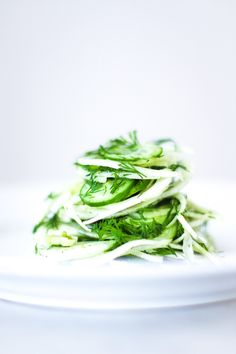 Fennel Slaw with Cucumber and Dill