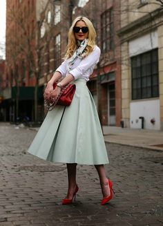 Mint & Red By Atlantic-Pacific....Love the mint!!!!