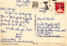 365 Days of Postcards- #99 - April 9, 2012 - Spain, 1972
