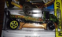 HOT WHEELS 2015 OFF-ROAD THE HAULINATOR #HotWheels