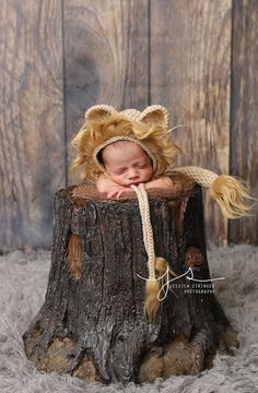 Crochet lion hat bonnet,lion photo prop,newborn lion bonnet,baby lion set,crochet baby hat,free shipping,baby shower gift,unisex photo prop - pinned by pin4etsy.com
