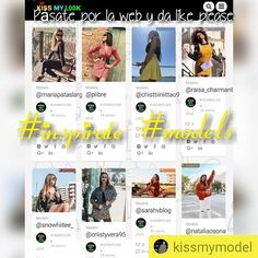 "#Repost @kissmymodel      ""Nuevos looks"" #enlaweb www.kissmylook.com #model #girls #publicidad #colaboraciones #top #topmodel #book #bloggers #kiss #stylewomen #kissmymodel #kissmylook #photography #photographer #foto #asmr feliz sábado kissess"
