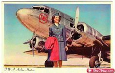 Vintage Stewardess Pictures - Flight Attendant Photos From The Past When The Airlines Only Hired The Hot Sexy Stewardess. Travel Log, Air Travel, Airline Travel, Airplane Pilot, Aircraft Photos, Vintage Travel Posters, Vintage Airline, Aviation Art, Flight Attendant