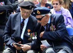 Dunkirk veteran tells of 'enormous tears' at memorial 75 years on #dailymail