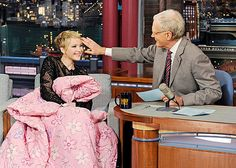 Jennifer Lawrence on David Letterman- showing why she's his new favorite guest