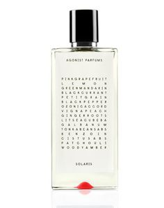 SOLARIS via AGONIST Parfums. Click on the image to see more!