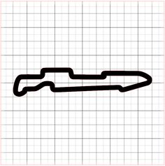 CA – Auto Club Speedway Interior Layout Sticker