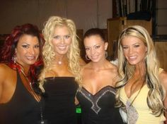 Lisa Marie Torrie Wilson Candice Michelle & Ashley Massaro