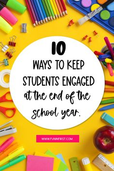 These 10 ways to keep students engaged will make the end of your school year a success. Teaching Activities, Teaching Tips, Classroom Activities, Classroom Ideas, Best Teacher Gifts, Student Gifts, Book Tasting, Second Grade Writing, Classroom Management Tips
