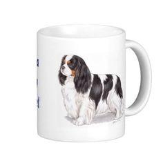 Mug: Tricolor Cavalier King charles spaniel