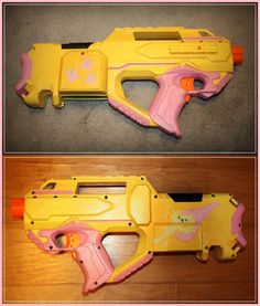 MLP Nerf Rayven blaster custom paint job!