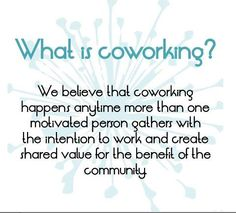 What is coworking? We believe coworking is the future of work. Solecan will be right there with you at your coworking space. http://www.solecan.com/
