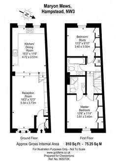 Maryon Mews, Hampstead, NW3 Floorplan
