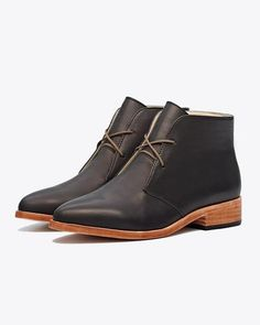 Nisolo Women's Isa Boot Black