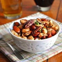 Bar Nuts -  a little sweet, a little spicy & very addictive