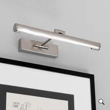 Astro Goya 460 LED Picture Light - Brushed Nickel from Lighting Direct. Delivered direct to your door - Buy online today